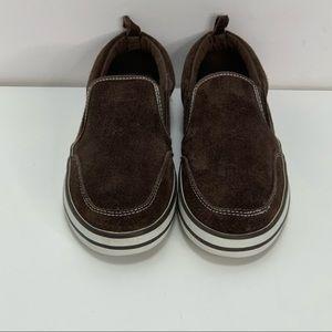 Vintage gap leather slip on sneaker